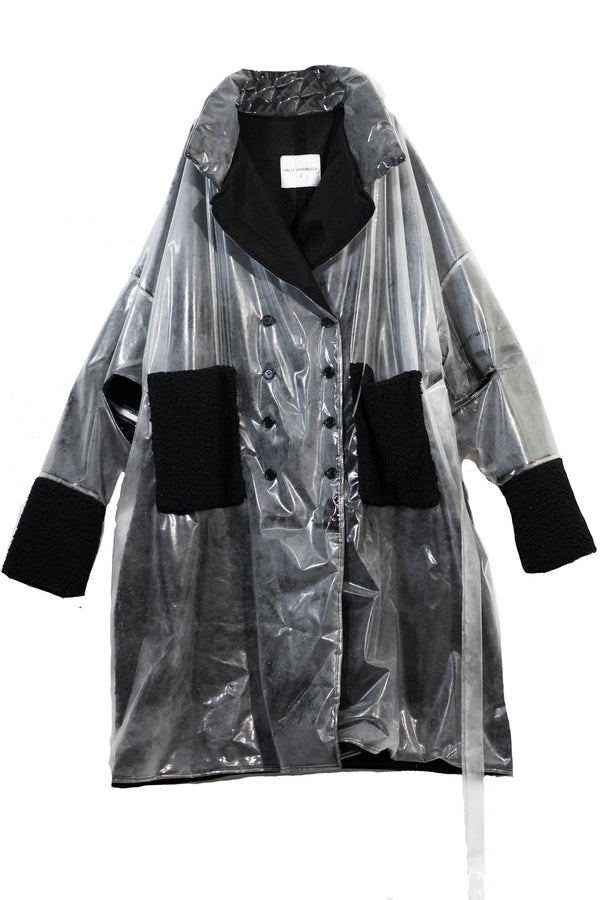 NELLY JOHANSSON FLEECE RAIN COAT - NELLY JOHANSSON