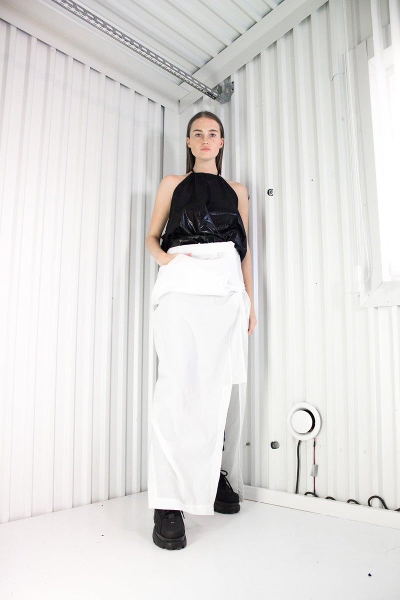 NELLY JOHANSSON TRASH BAG TOP