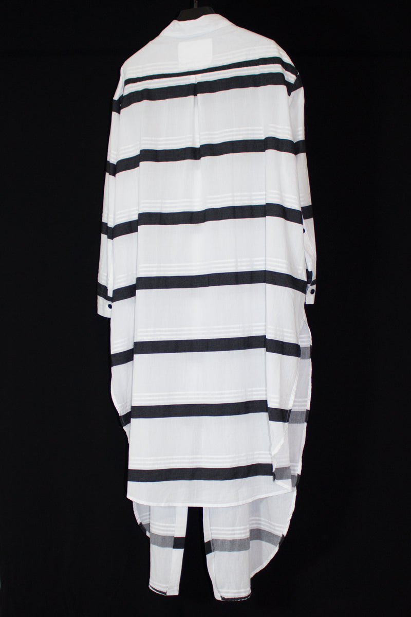 NELLY JOHANSSON STRIPE SHIRT DRESS