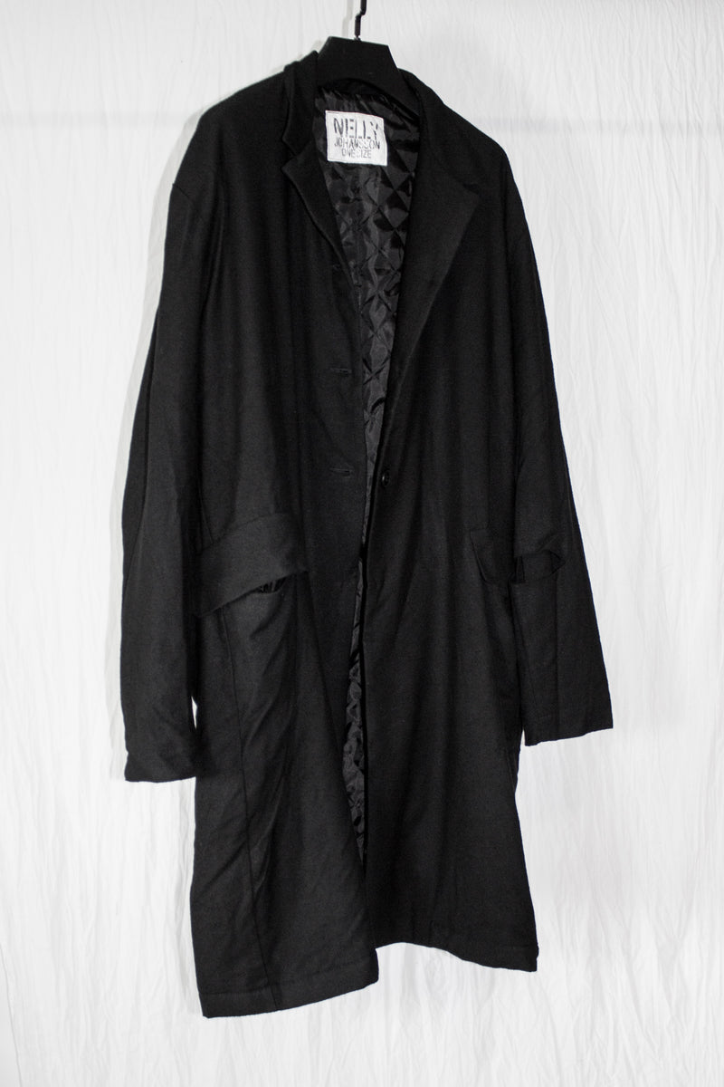 NELLY JOHANSSON PADDED WOOL COAT