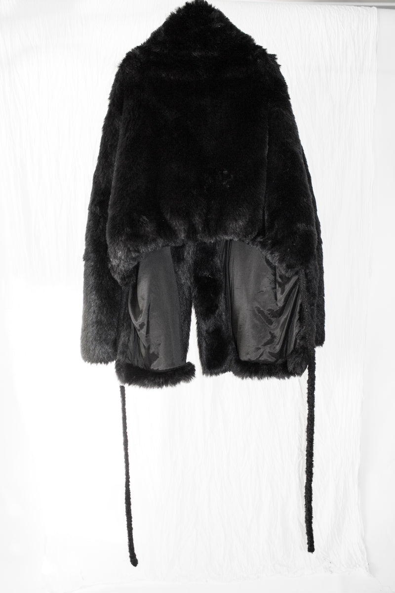 NELLY JOHANSSON FAUX FUR JACKET - NELLY JOHANSSON