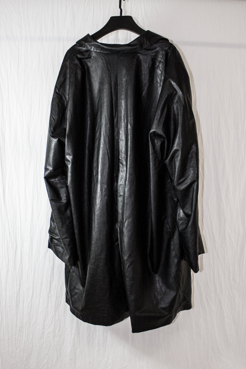 NELLY JOHANSSON FAUX LEATHER COAT - NELLY JOHANSSON