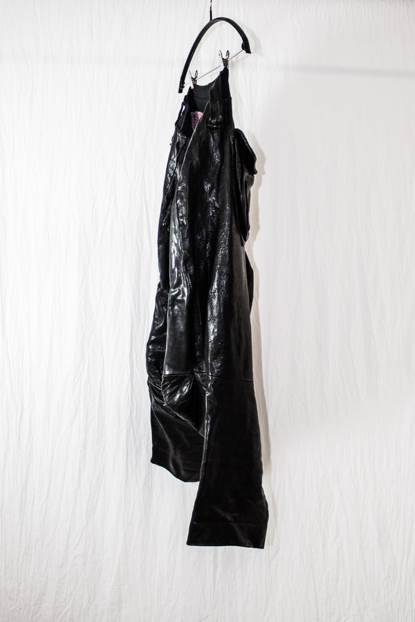 NELLY JOHANSSON VINTAGE LEATHER TROUSERS