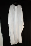 NELLY JOHANSSON SHEER WHITE DRESS