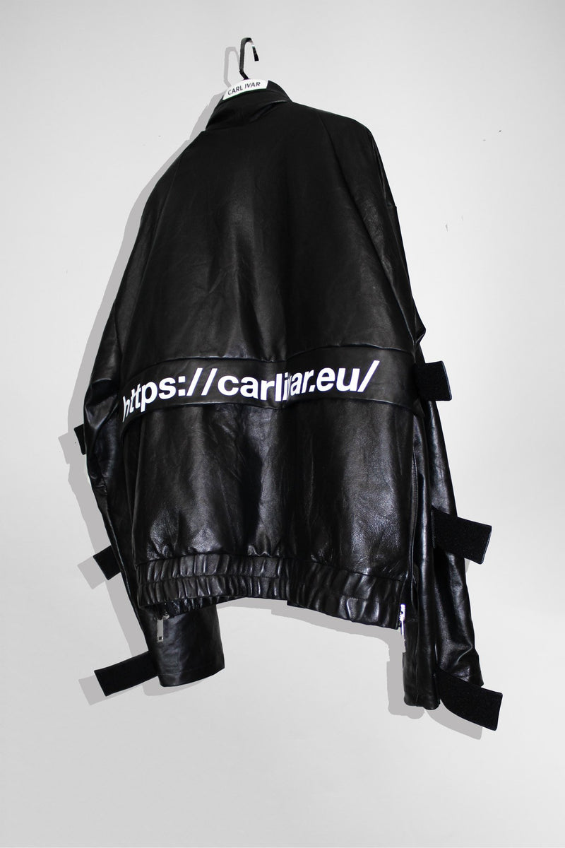 Leather Windbreaker - CARL IVAR