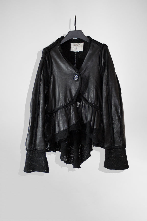 NELLY JOHANSSON VINTAGE LEATHER JACKET