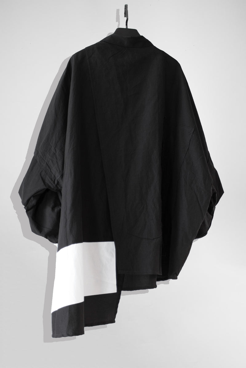 NELLY JOHANSSON DRAPED SHIRT DRESS