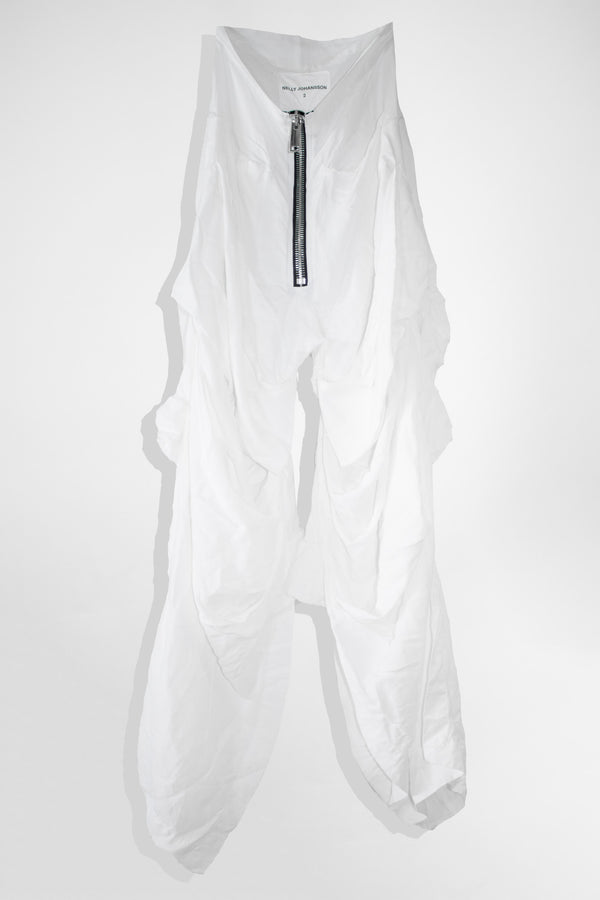 NELLY JOHANSSON DRAPED PANTS