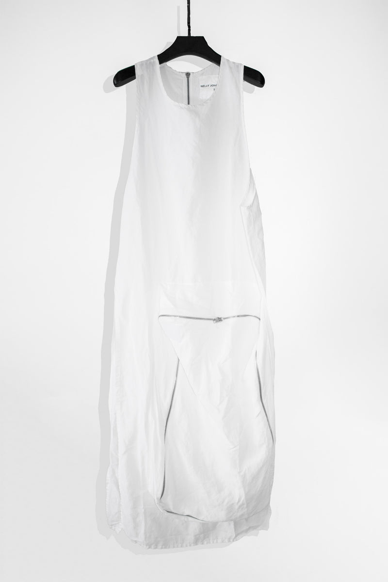 ZIP POCKET DRESS - NELLY JOHANSSON