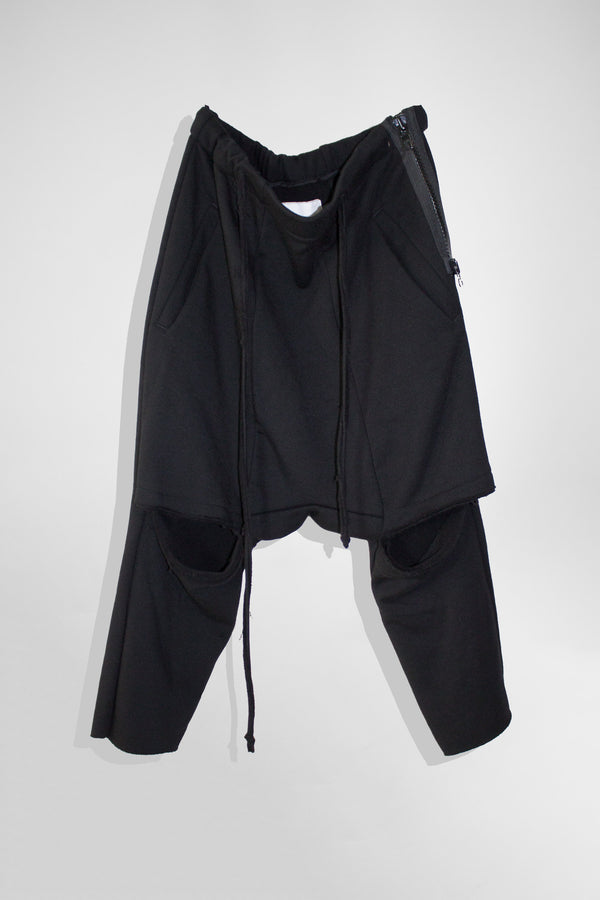 NELLY JOHANSSON VENTED KNEE TROUSERS