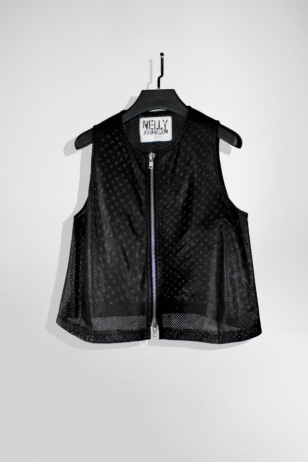 NELLY JOHANSSON PERFORATED TOP