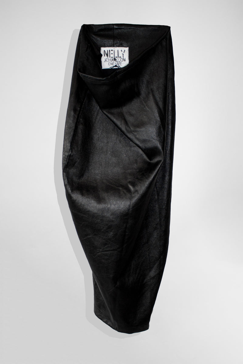NELLY JOHANSSON LEATHER PENCIL SKIRT