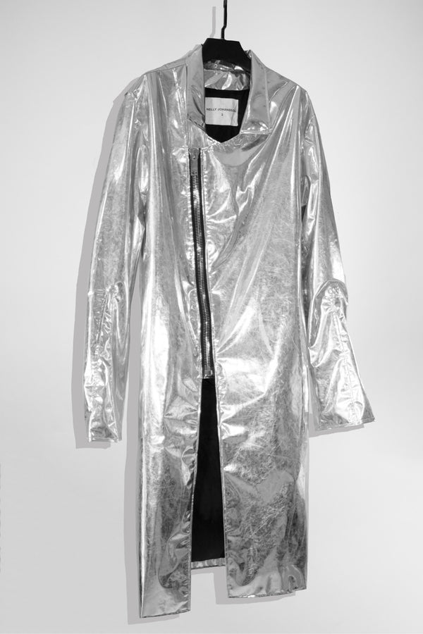 SILVER JACKET - NELLY JOHANSSON