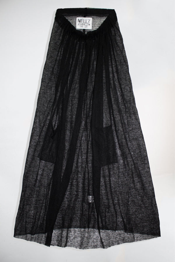 Sheer Long Skirt - NELLY JOHANSSON