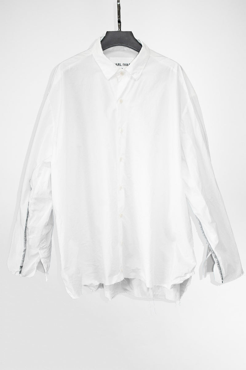 Deconstructed Sleeve Shirt - NELLY JOHANSSON