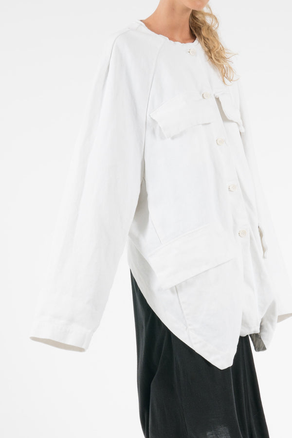 NELLY JOHANSSON CANVAS JACKET - NELLY JOHANSSON