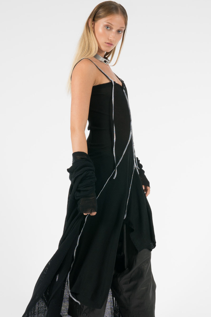 NELLY JOHANSSON TRASHY SILK DRESS - NELLY JOHANSSON