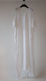 WHITE LONG DRESS AMIENS
