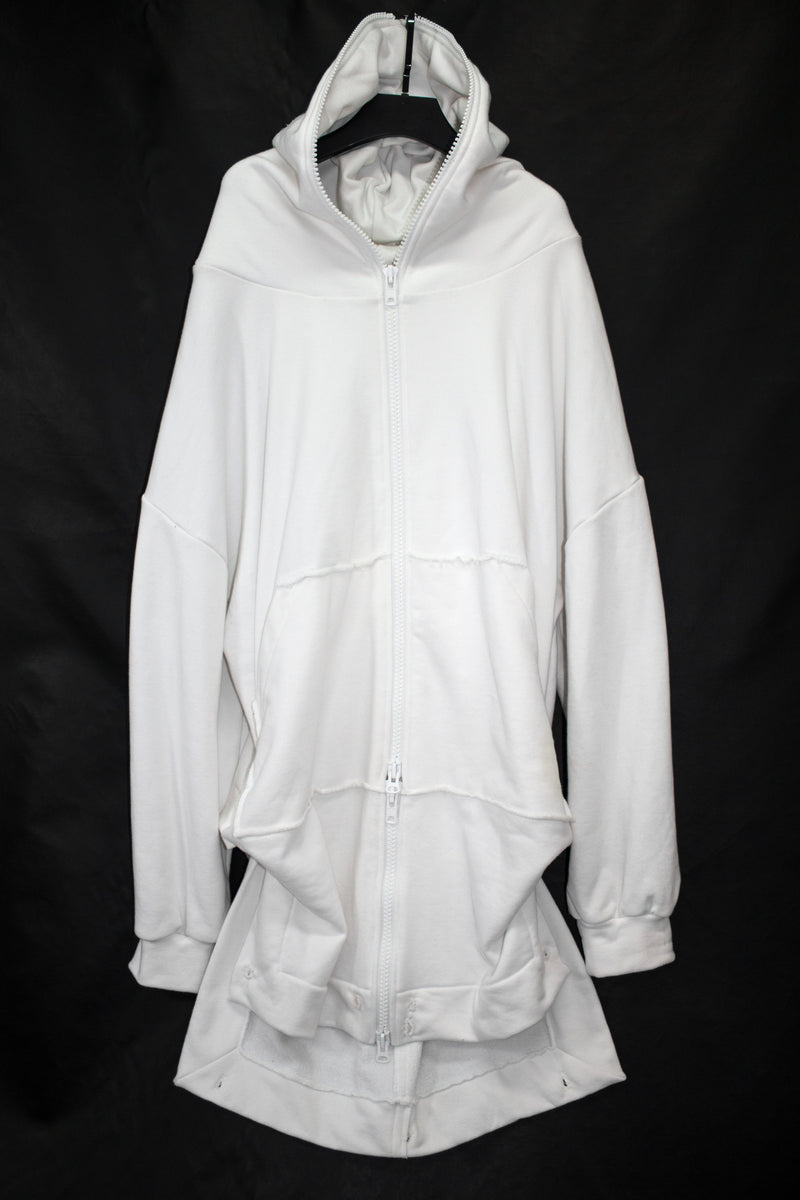 Oversized Folded Zipper Hoodie - CARL IVAR - carlivar -