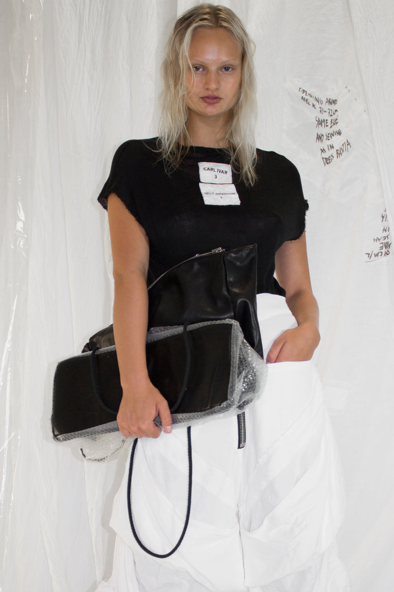 CARL IVAR + NELLY JOHANSSON DOUBLE LAYER BAG - NELLY JOHANSSON