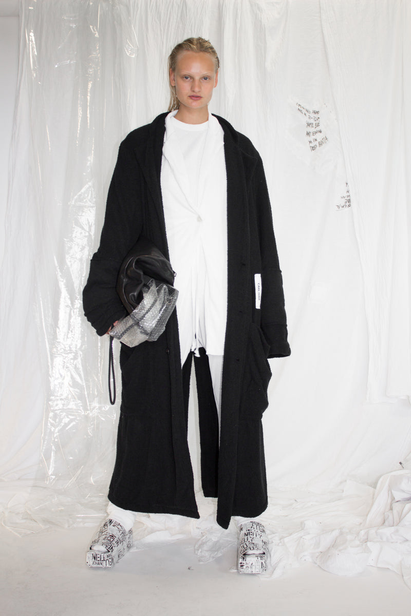 CARL IVAR + NELLY JOHANSSON DOUBLE LAYER TWILL COAT - NELLY JOHANSSON