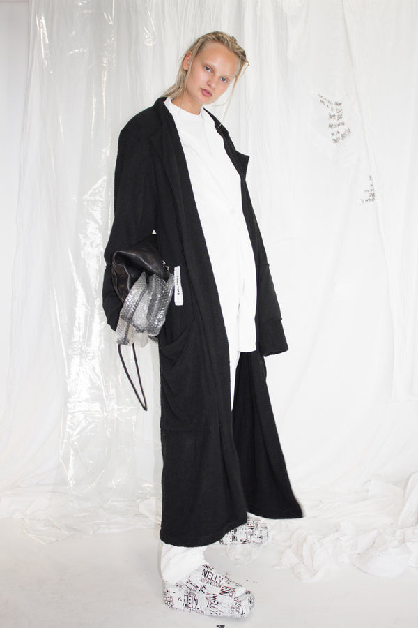 CARL IVAR + NELLY JOHANSSON DOUBLE LAYER TWILL COAT