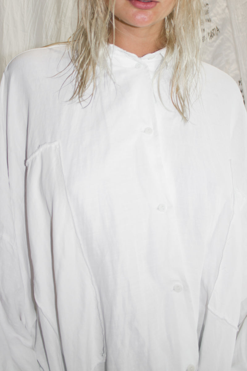 NELLY JOHANSSON TWIST SHIRT COAT