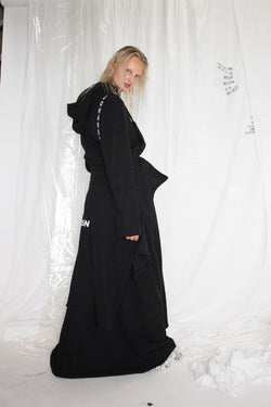 NELLY JOHANSSON HOODED DRESS - NELLY JOHANSSON