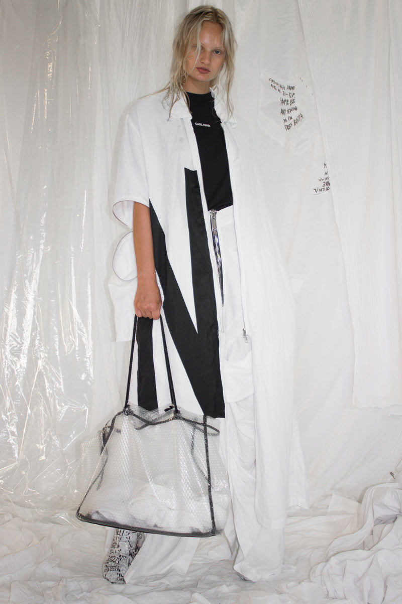 NELLY JOHANSSON SPLIT DRESS COAT