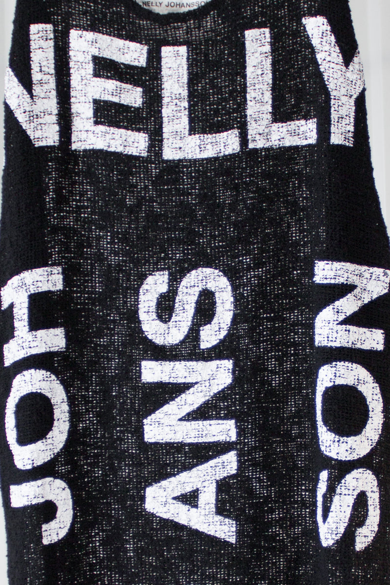 NELLY JOHANSSON PRINTED MESH DRESS