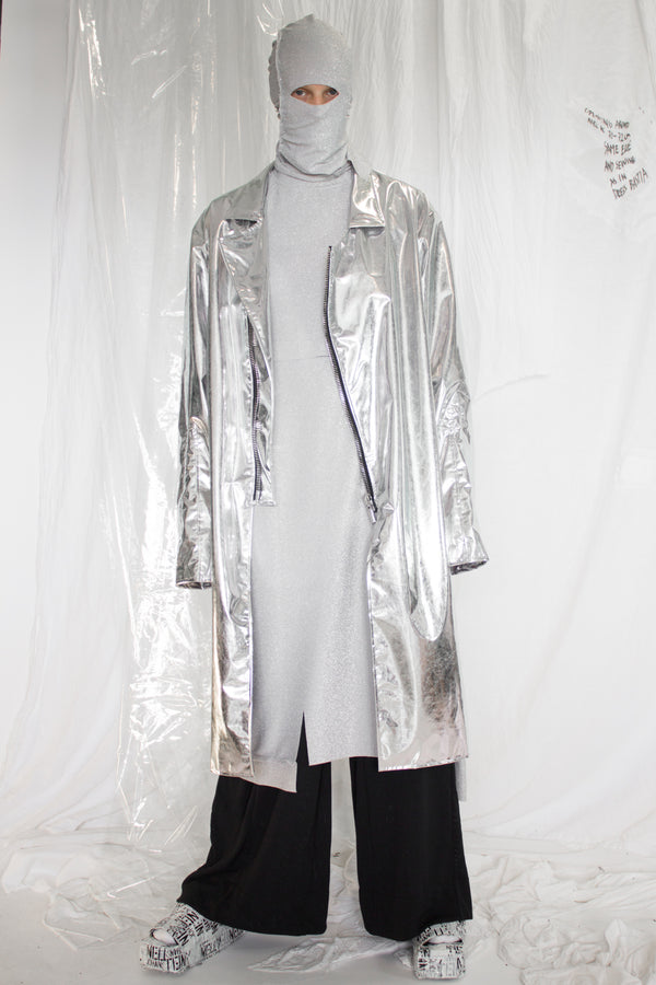 NELLY JOHANSSON SILVER JACKET - NELLY JOHANSSON
