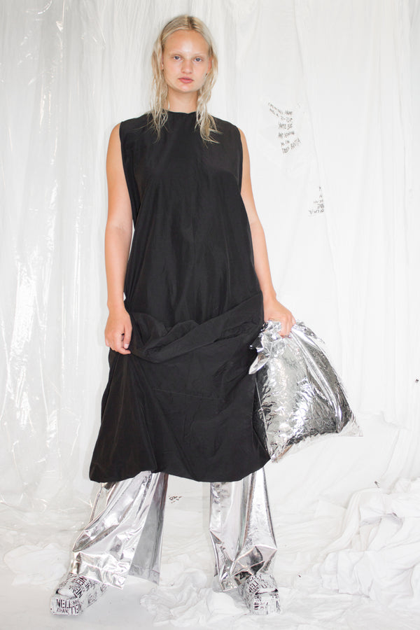 NELLY JOHANSSON DRAPED DRESS - NELLY JOHANSSON