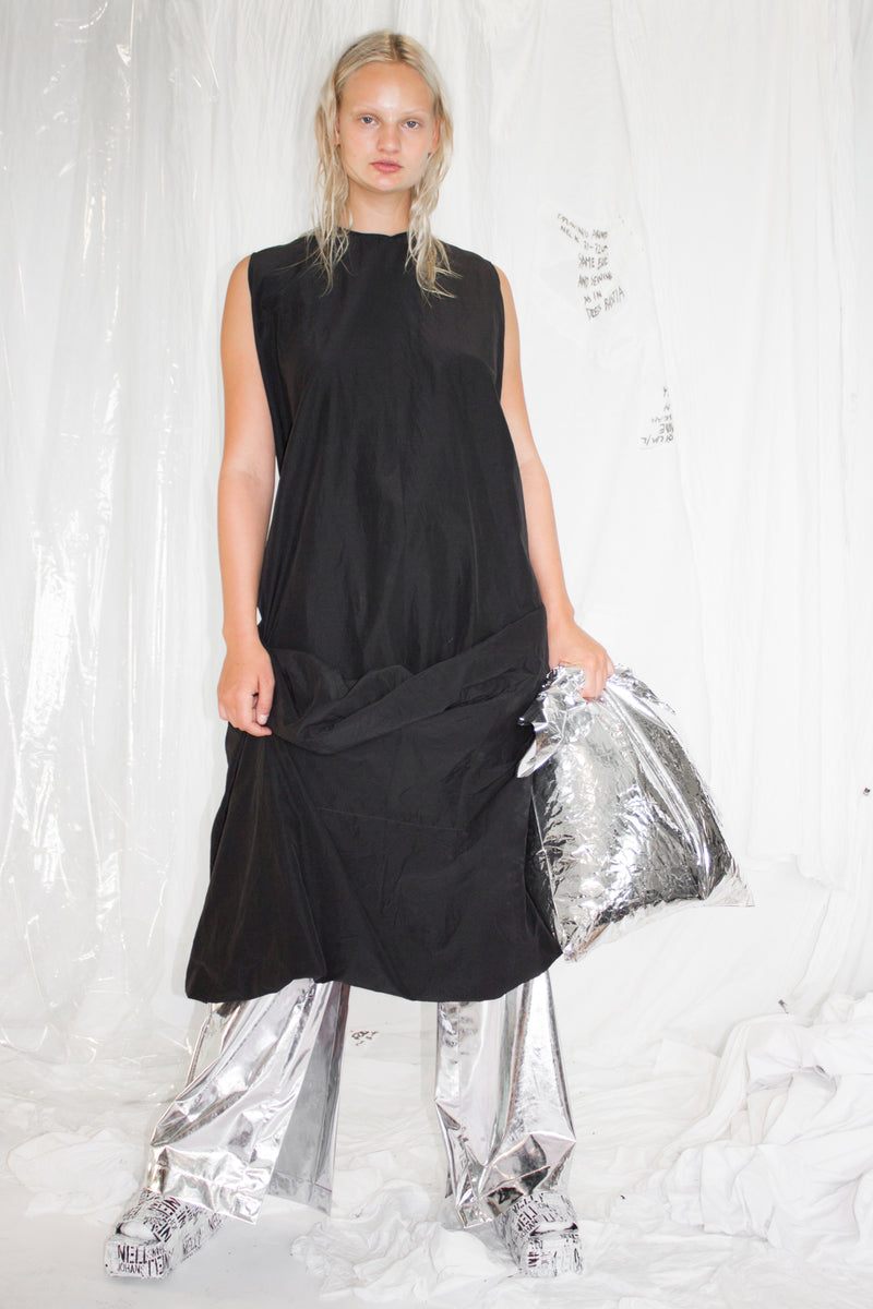 NELLY JOHANSSON DRAPED DRESS