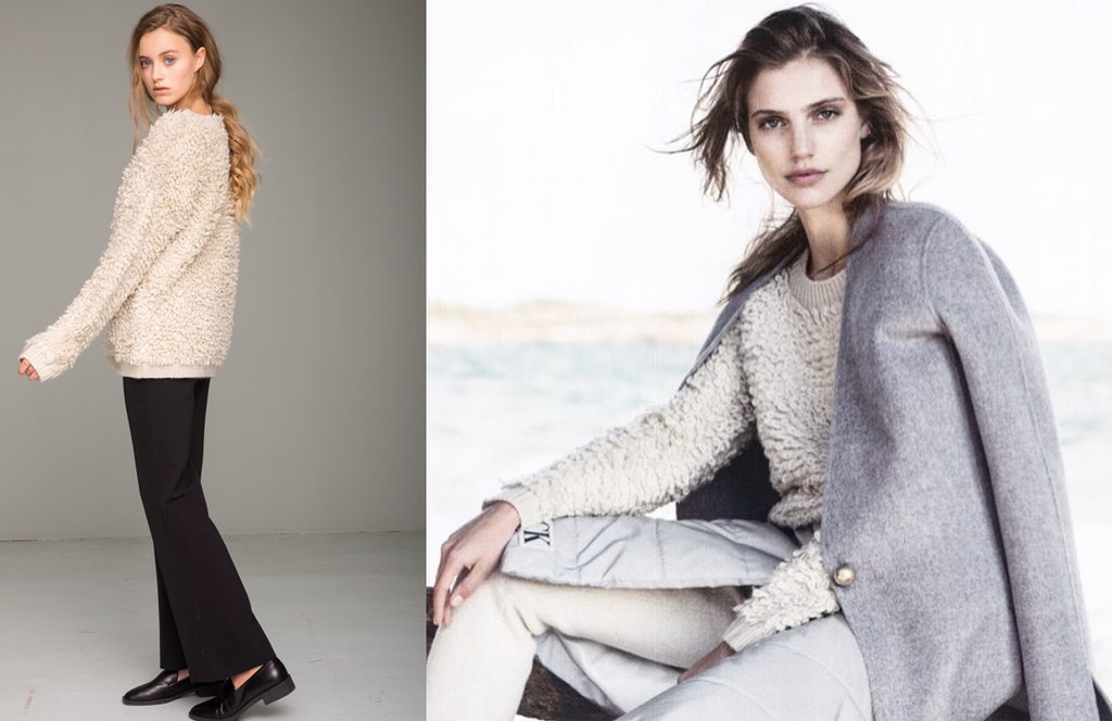 We have spotted Adela Knit in the latest issue of Damernas Värld