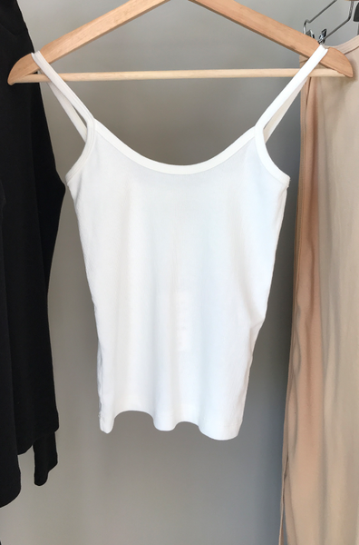 rib top white - PJOKI
