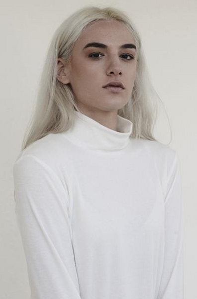 High neck long sleeve Tee - PJOKI