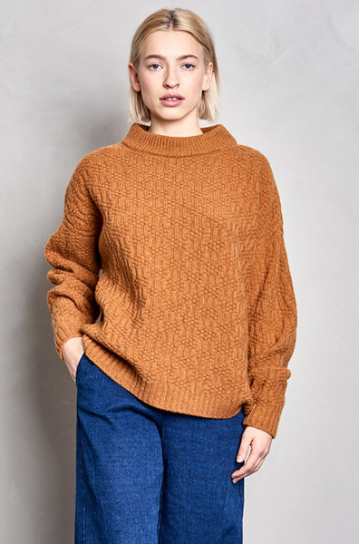 Halli structure wool sweater - PJOKI