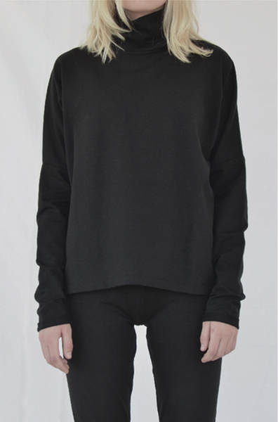 By Signe high neck Sweater organic fashion