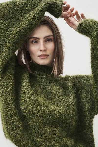 Faye silk mohair sweater