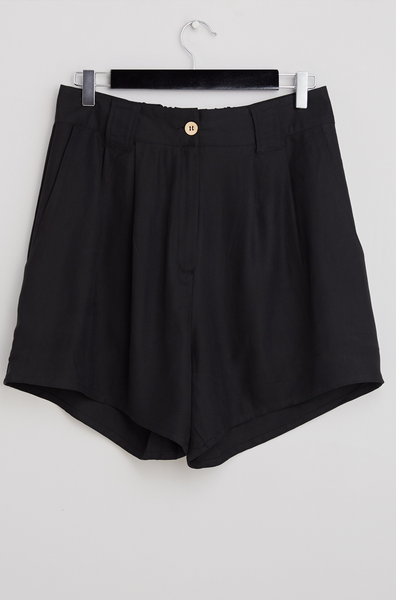 Sandwashed silk shorts - PJOKI