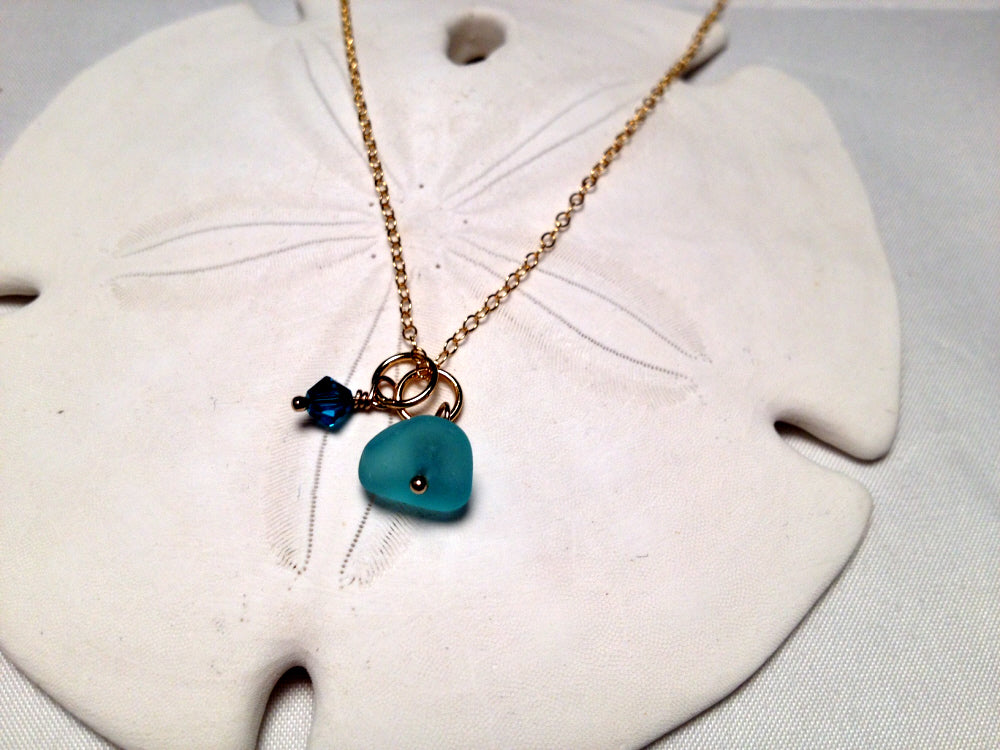 Style Trends #1 and #2 Sea Glass in Gold and Perfect for Layering!!