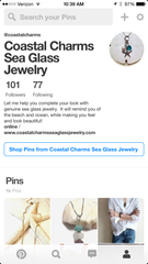 coastal charms sea glass jewelry pinterest board