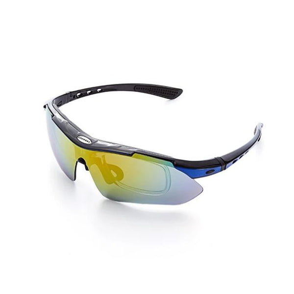 Adamant AirDynamic Polarized Active Wear 5-in-1 Sport Sunglasses