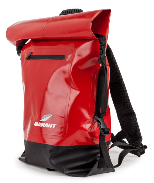 Adamant - X-Core Waterproof Dry Bag Backpack, Red