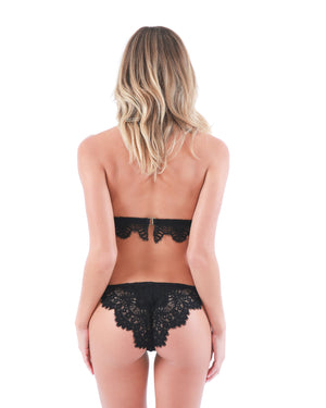 WALK OF FAME PANTY SET - BLACK