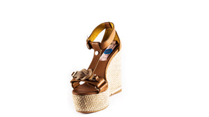 GIGI - BROWN & GOLD KNOT