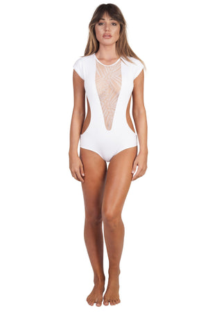 SANTOS WHITE PALM ONE PIECE