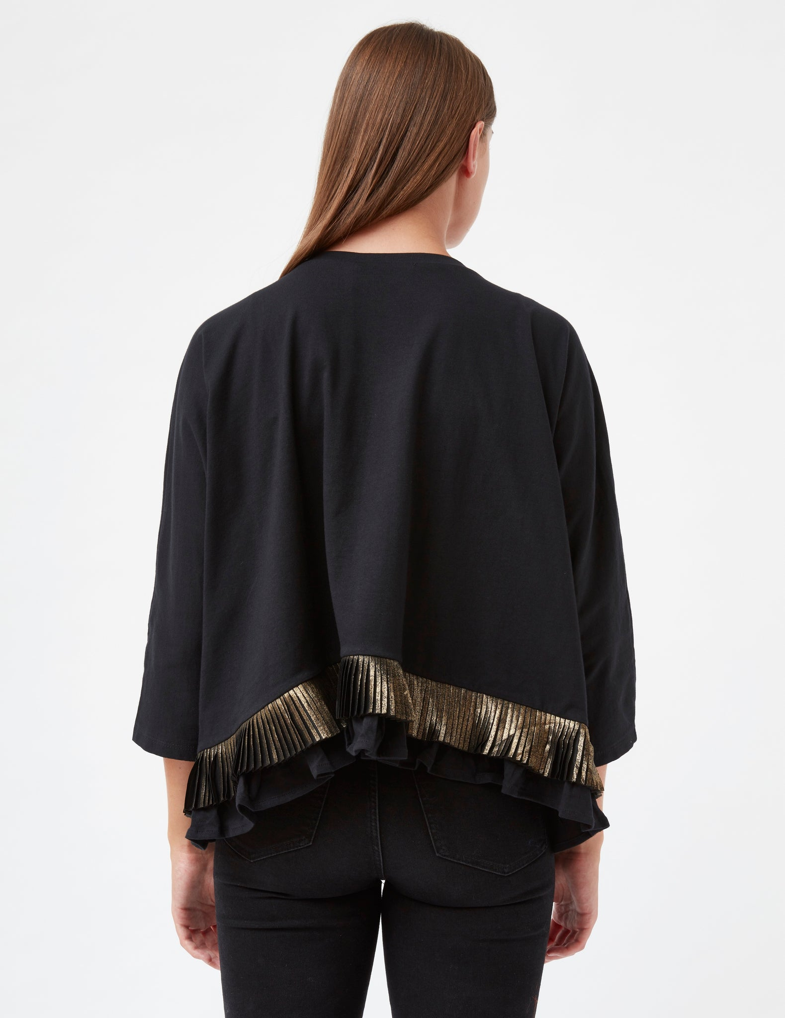 MARVELLOUS AND MISCELLANEOUS - BLATANTLY BOLD FRINGED TOP