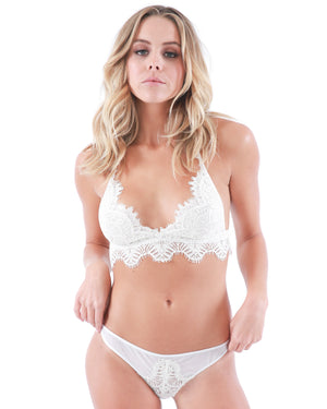 WALK OF FAME PANTY SET - WHITE
