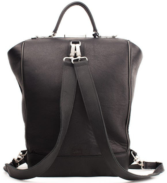 VAN VEER BACKPACK BLACK